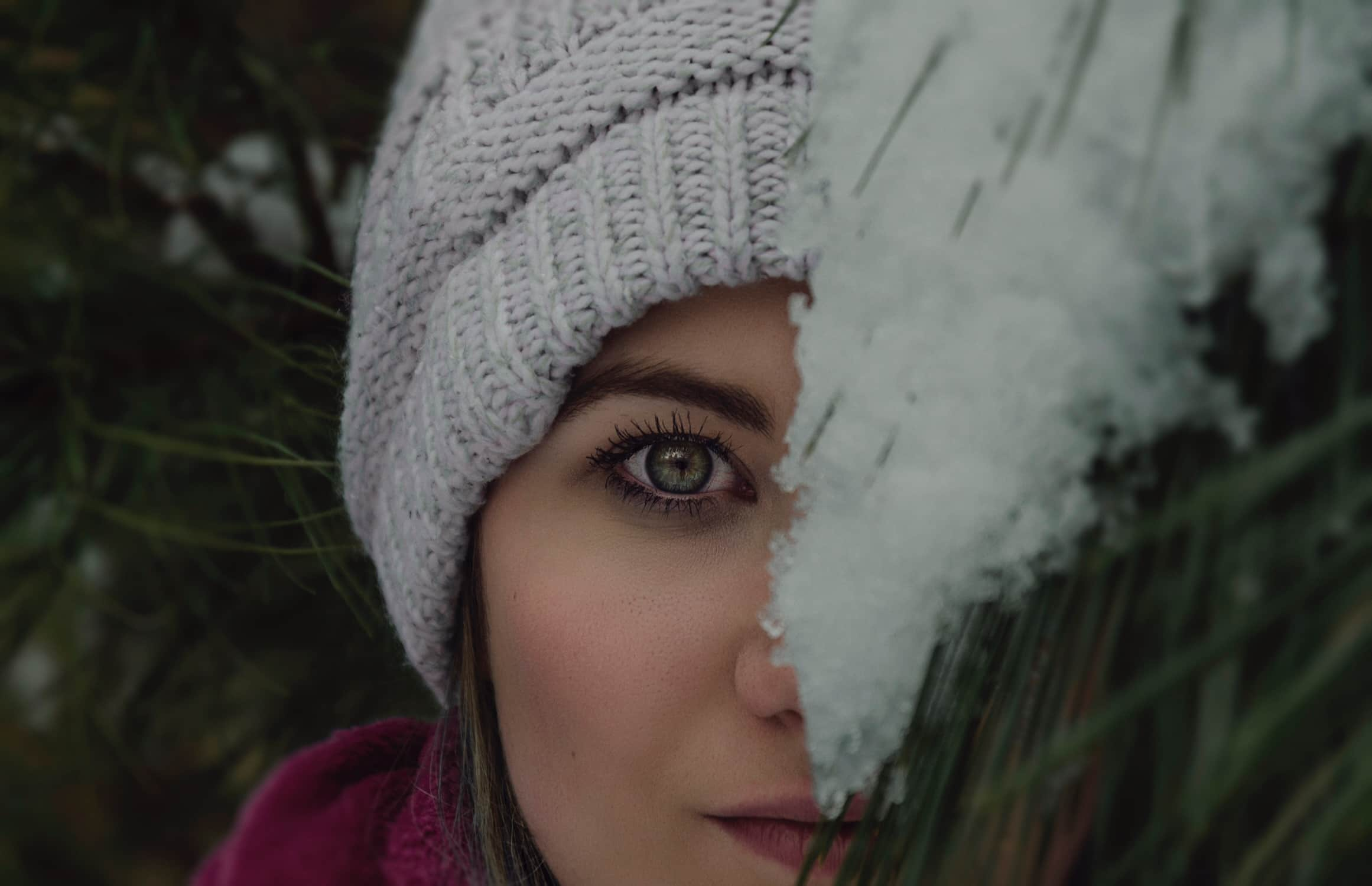 Eye makeup winter
