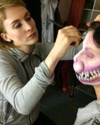 cheshire cat makeup creation