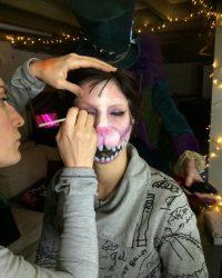 creative makeup prosthetics